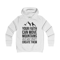 Mountain Range Girlie College Hoodie