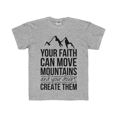 Mountain Kid Youth Regular Fit Tee