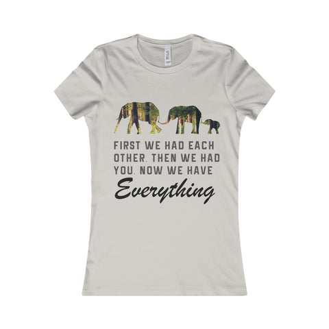 Elephant Print Design Women Shirt