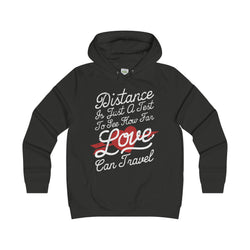 Distance Is Just A Test Women Hoddies