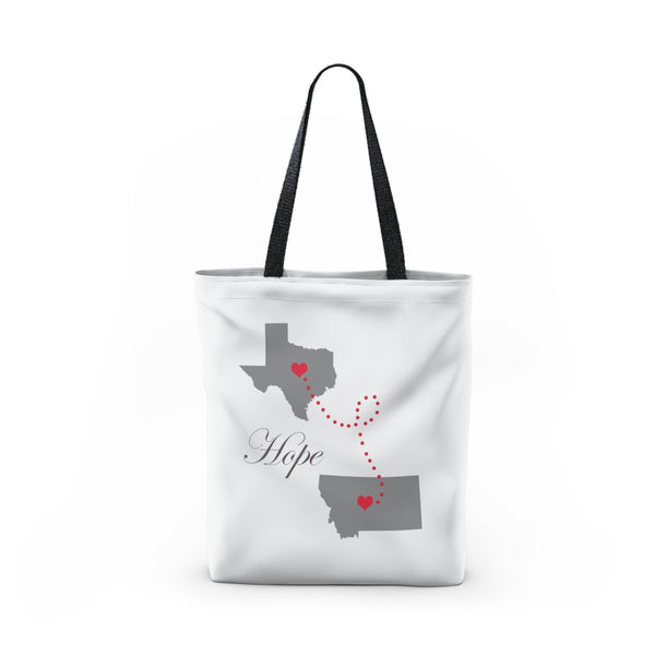 Texas to Montana Tote Bag