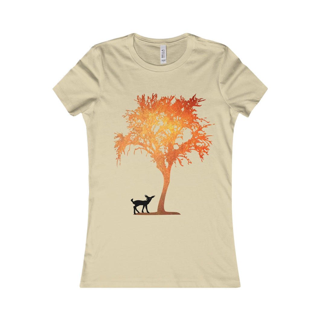 Deer Fox Women Shirt