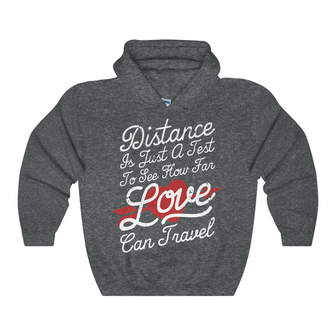 Distance Is Just A Test Men Hoddies