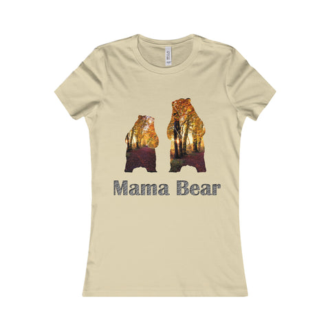 Mama Grizzly Bear Women Shirt