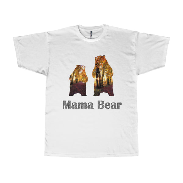 Mama Grizzly Bear Men Shirt