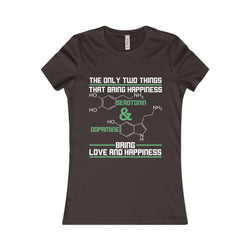Science Happiness Women Shirt