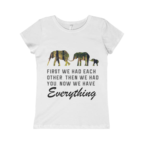 Family Elephant Kid Girl Shirt