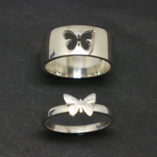 Load image into Gallery viewer, Butterfly Couple Promise Ring