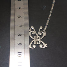 Load image into Gallery viewer, Music Note Butterfly Necklace