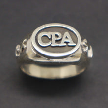 Load image into Gallery viewer, Accountant CPA Graduation Ring