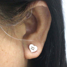 Load image into Gallery viewer, Equality Heart Pride Stud Earring