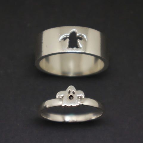 Ghost Ring for Couples