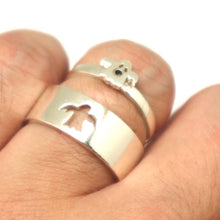 Load image into Gallery viewer, Ghost Ring for Couples