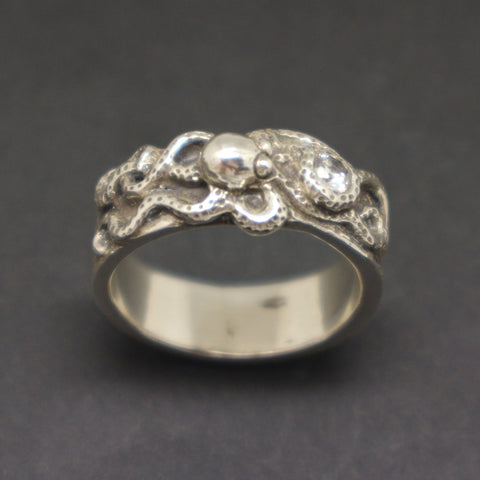 Octopus Engagement Ring for Men