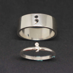 Semicolon Rings for Couple