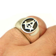 Load image into Gallery viewer, Masonic Men Signet Ring