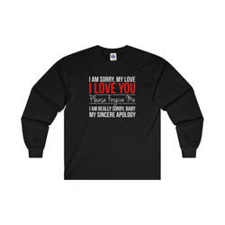 I Am Sorry Long Sleeve Women Sweater