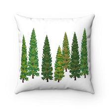 Load image into Gallery viewer, Nature Tree Polyester Square Pillow