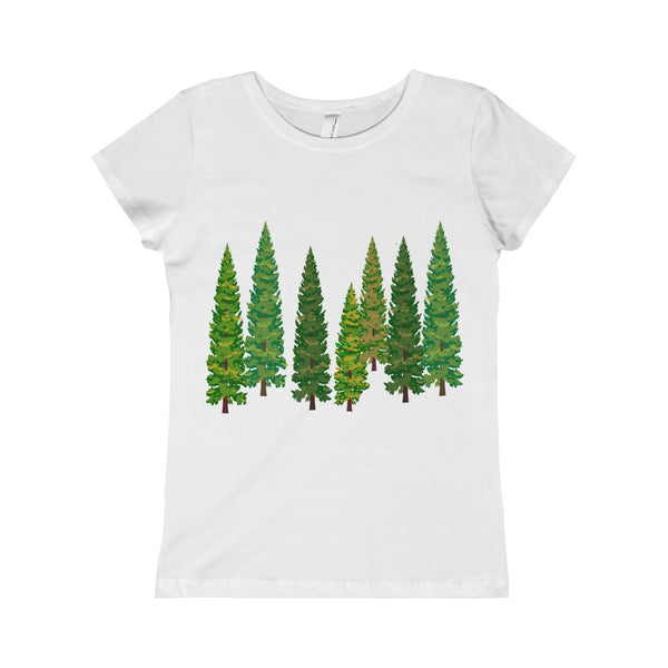 Pine Tree Kid The Princess Tee