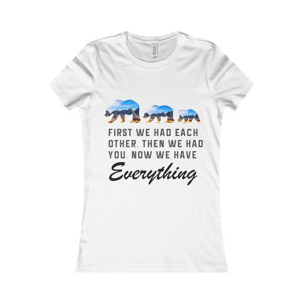 Family Papa Bear Women Shirt
