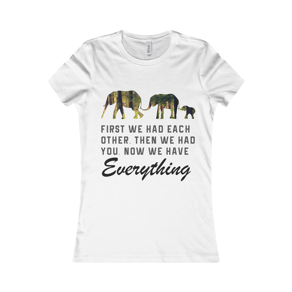 Family Elephant Women Shirt