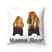 Load image into Gallery viewer, Grizzly Bear Polyester Pillow