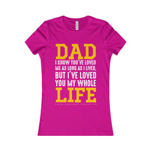 Load image into Gallery viewer, Dads with Daughter Women Shirt