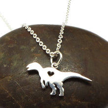 Load image into Gallery viewer, Hadrosaur Dinosaur Necklace