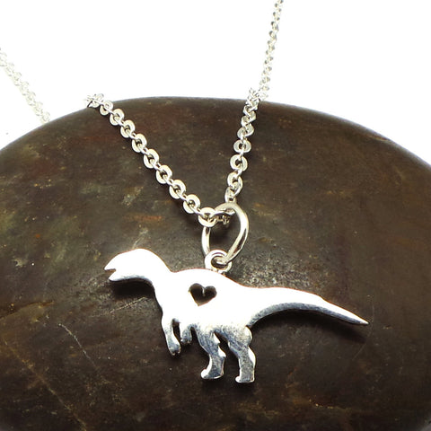 Hadrosaur Dinosaur Necklace