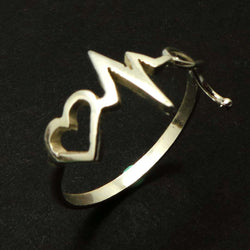 Nurse Heartbeat Stethoscope Ring