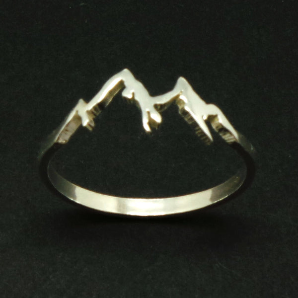 Silver Mountain Range Ring