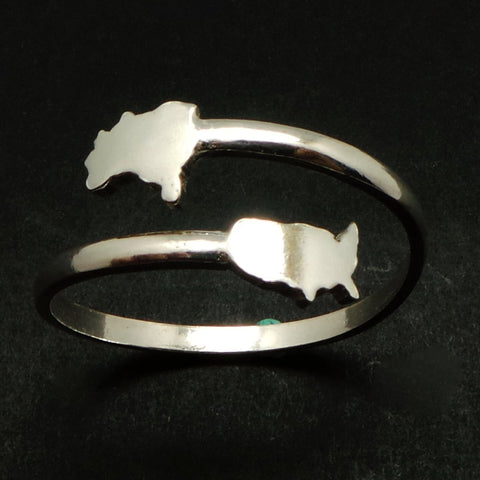 Silver Brazil to United States Ring