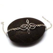 Load image into Gallery viewer, Sterling Silver Celtic Knot Bracelet
