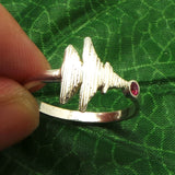 I Love You Sound Wave Ring