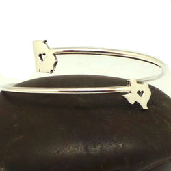 Missouri to Texas Two States Bracelet