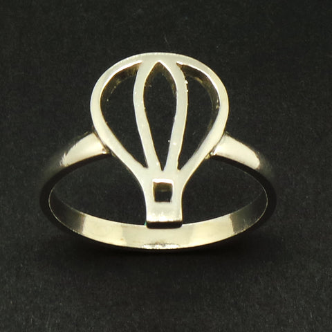 Silver Hot Air Ballon Ring