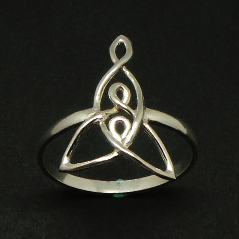 Celtic Mother and 2 Child Knot Ring