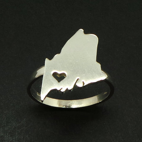 Maine Home State Ring