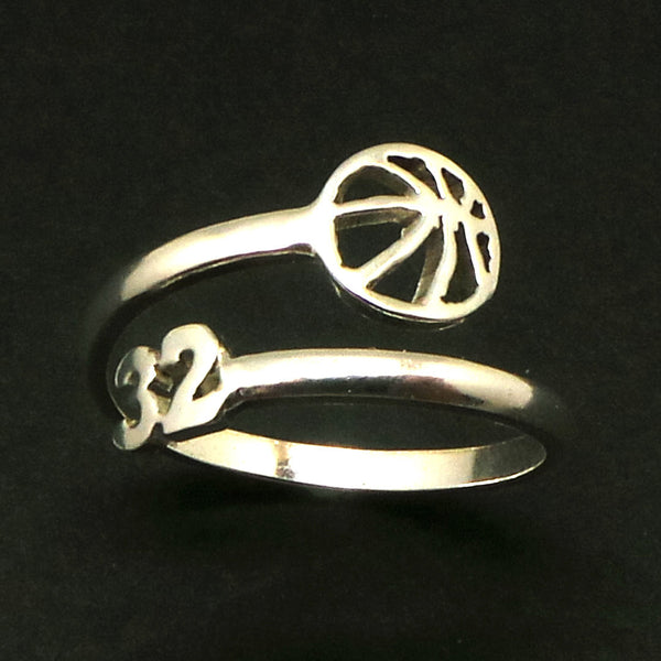 Custom Basketball Number Ring