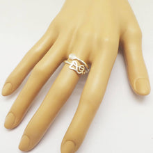 Load image into Gallery viewer, Silver Treble Clef Guitar Ring