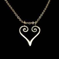 Silver Ring Holder Necklace