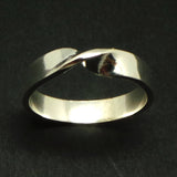 5mm Sterling Silver Mobius Ring