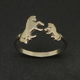 Mother Daugther Horse Ring
