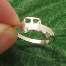 Load image into Gallery viewer, Silver Vehicle Jeep Ring