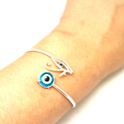 Egyption Eye of Horus Evil Eye Bracelet