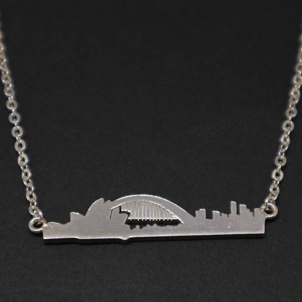 Australia Sydney Skyline Necklace Choker