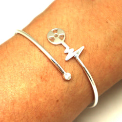 Personalized Radiology Xray Tech Bracelet