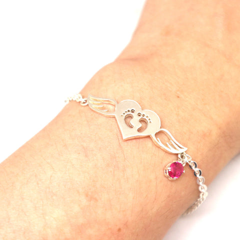 Pregnancy Loss Baby Miscarriage Bracelet