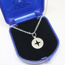 Load image into Gallery viewer, Personalized Compass Necklace