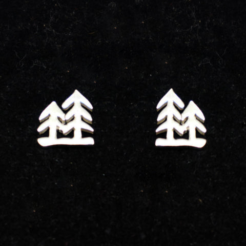 Forest Tree Stud Earring